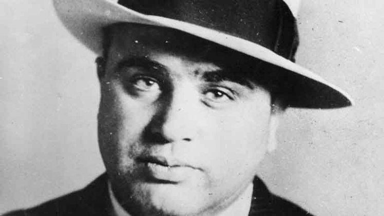Al Capone Portrait