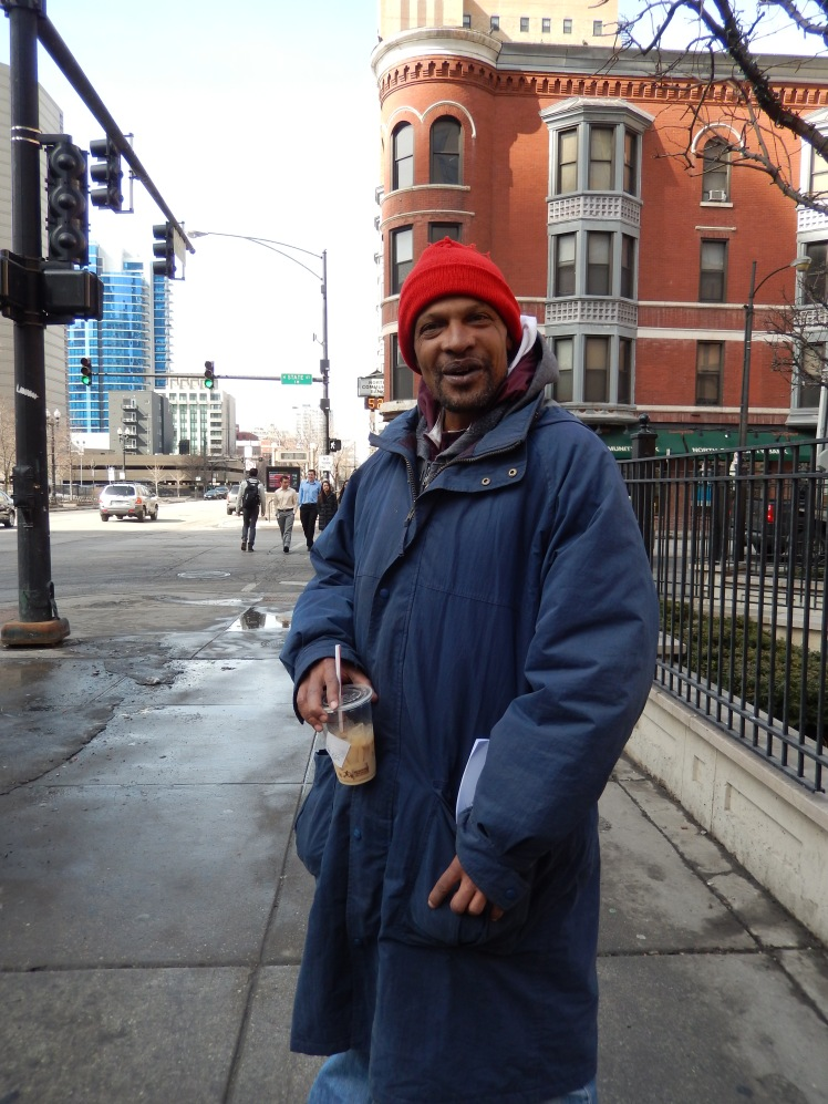 Willy - Homeless - Chicago - By Audrey Lisquit